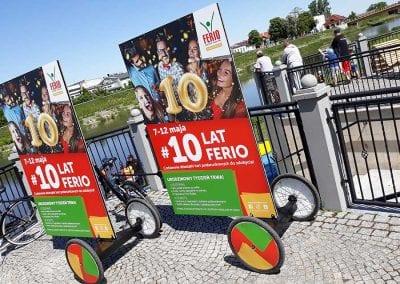 Konin – urodzinowa kampania dla CH Ferio