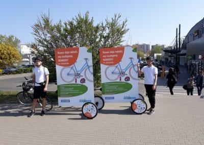 Galeria Przymorze wGdańsku postanowiła rozdać rowery